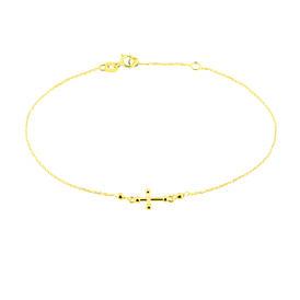 Damenarmband Gold 375 Kreuz - Kategorie Damen | Oro Vivo