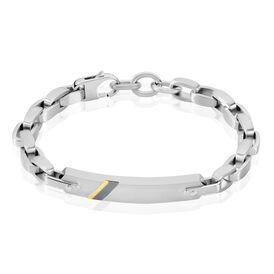 Fossil Herren Id Armband Ankerkette Edelstahl - ID-Armbänder Herren | Oro Vivo
