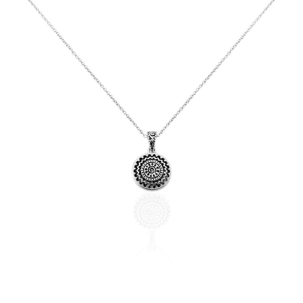 Damen Halskette Silber 925  - Ketten mit Anhänger Damen   Oro Vivo