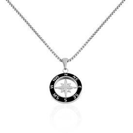 Herren Halskette Edelstahl Windrose - Kategorie Herren | Oro Vivo