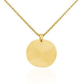 Damen Halskette Edelstahl Vergoldet  - Ketten mit Anhänger  | Oro Vivo