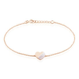 Damenarmband Silber 925 Rosé Vergoldet Herz - Black Friday Damen | Oro Vivo