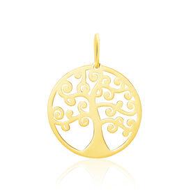 Anhänger Gold 375 Lebensbaum  - Schmuckanhänger Damen | Oro Vivo