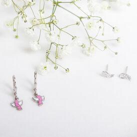 Kinder Ohrhänger Silber 925 Vogel - Ohrhänger Kinder | Oro Vivo