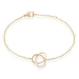 Damenarmband Vergoldet Zirkonia  - Armbänder Damen   Oro Vivo