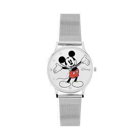 Disney Damenuhr Mickey Maus Kristalle Quarz - Analoguhren  | Oro Vivo