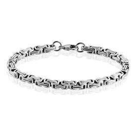Herren Armkette Königskette Edelstahl Vergoldet - Armbänder  | Oro Vivo