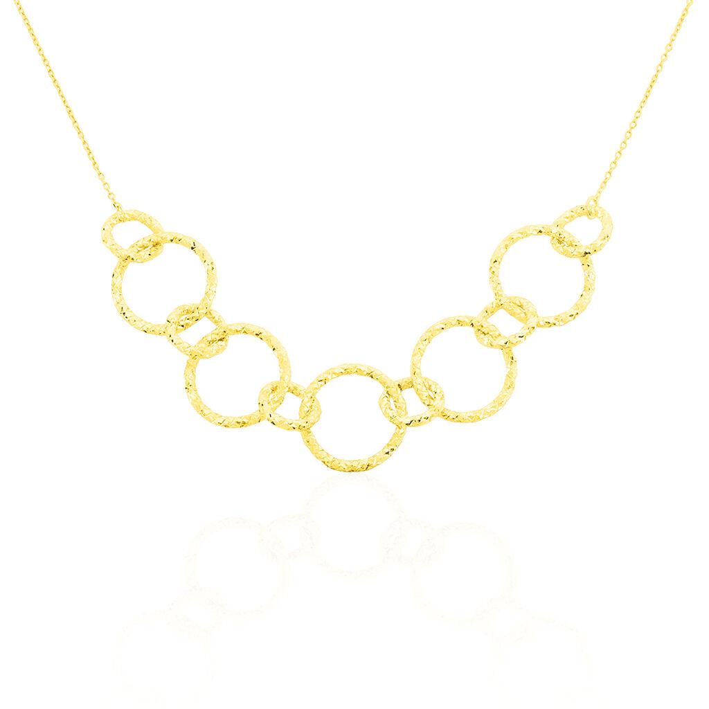 Damen Collier Gold 375 45cm - Ketten ohne Stein Damen | Oro Vivo