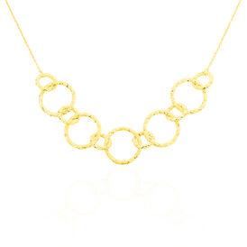 Damen Collier Gold 375 45cm - Ketten ohne Stein    Oro Vivo