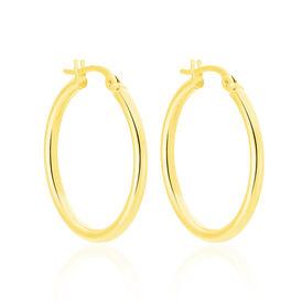 Damen Creolen Gold 585 20mm - Creolen Damen | Oro Vivo