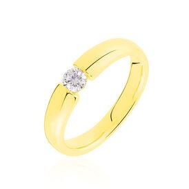 Spannring Gold 750 Diamant 0,2ct -  Damen | Oro Vivo
