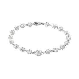 Damenarmband Silber 925 Zirkonia - Armbänder  | Oro Vivo