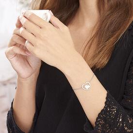 Damenarmband Edelstahl Herz - Armbänder Damen   Oro Vivo