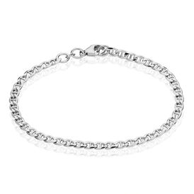Damenarmband Panzerstegkette Silber 925  - Armketten Damen   Oro Vivo
