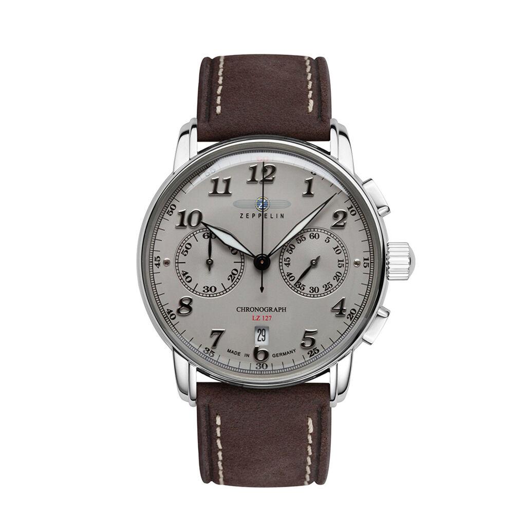 Zeppelin Herrenuhr Graf 8678-4 Quarz-chronograph - Analoguhren Herren | Oro Vivo