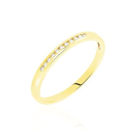 Damenring Gold 750 Diamanten 0,055ct -  Damen | Oro Vivo