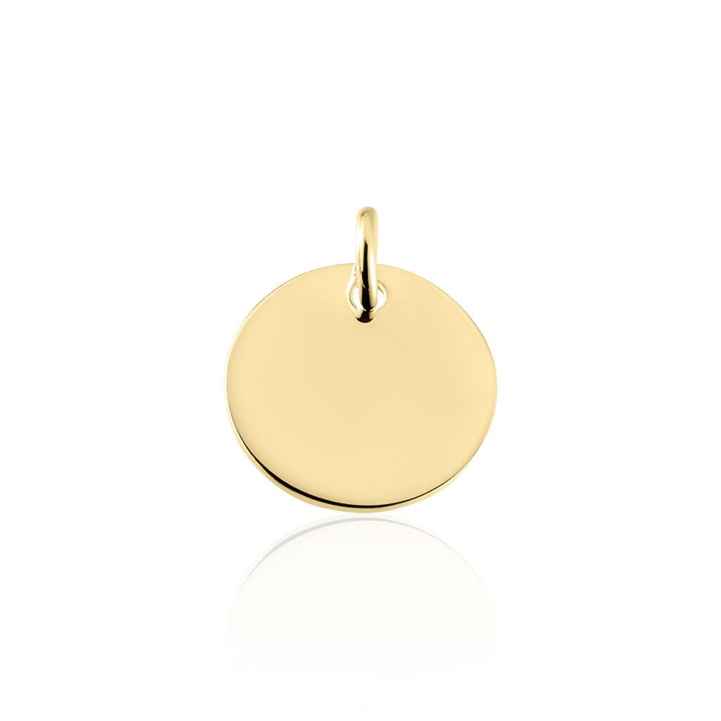 Unisex Anhänger Silber 925 Vergoldet Gravierbar - Personalisierte Geschenke Unisex   Oro Vivo