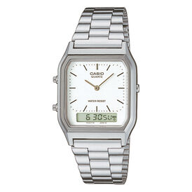 Casio Collection Unisexuhr Aq-230a-7qyes Digital -  Unisexe | Oro Vivo