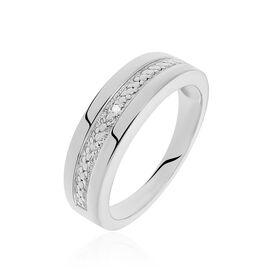 Damenring Silber 925 Diamant 0,011ct - Ringe mit Edelsteinen Damen | Oro Vivo