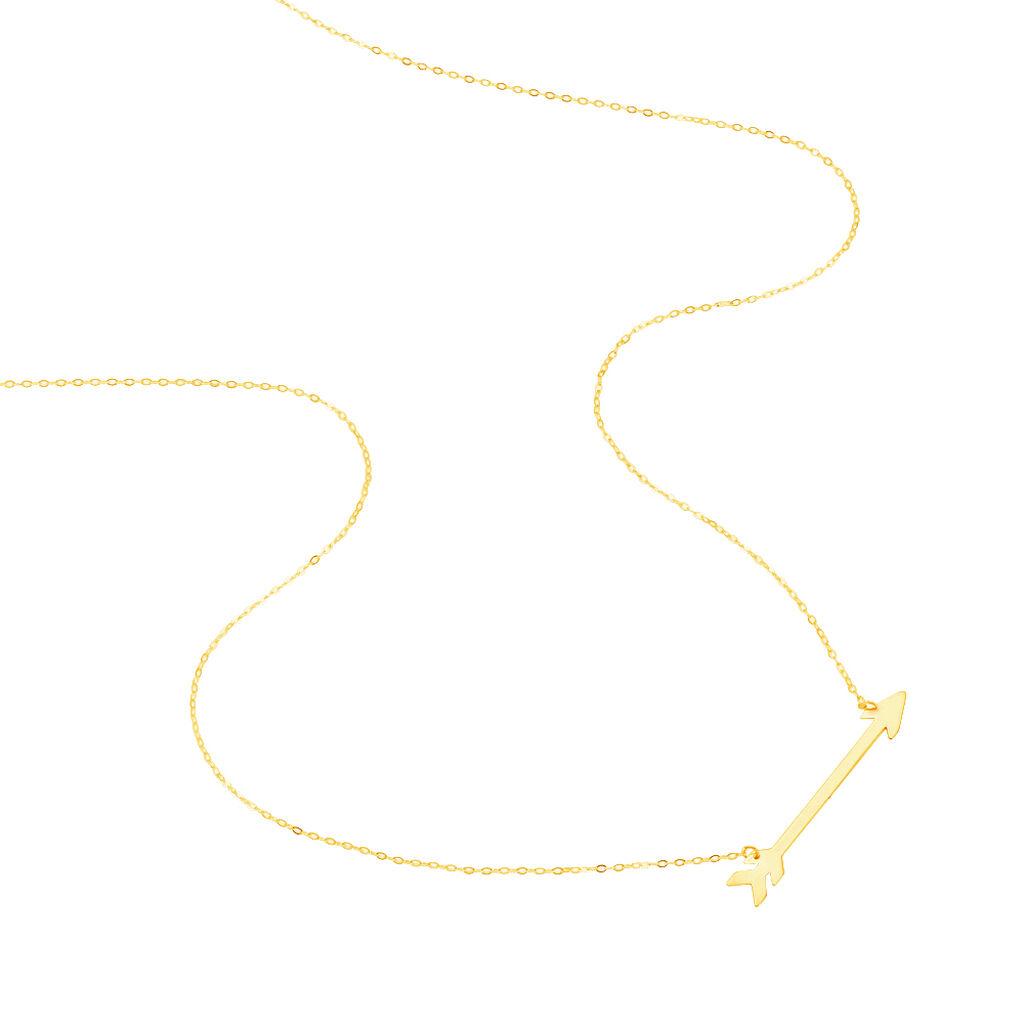 Damen Halskette Gold 375 Pfeil -  Damen | Oro Vivo