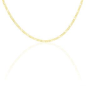 Unisex Figarokette Gold 333 70cm - Ketten ohne Anhänger Unisexe | Oro Vivo