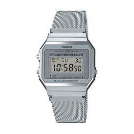 Casio Collection Retro Damenuhr A700wem-7aef - Chronographen Damen | Oro Vivo