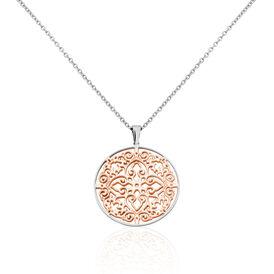 Damen Halskette Edelstahl Rosé Vergoldet -  Damen | Oro Vivo