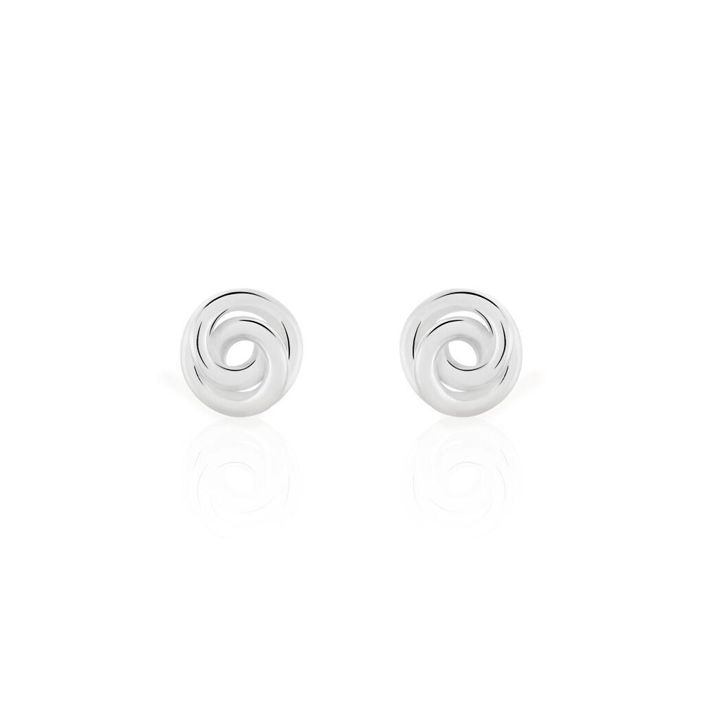 Damen Ohrstecker Silber 925 Spirale - Ohrstecker Damen | Oro Vivo
