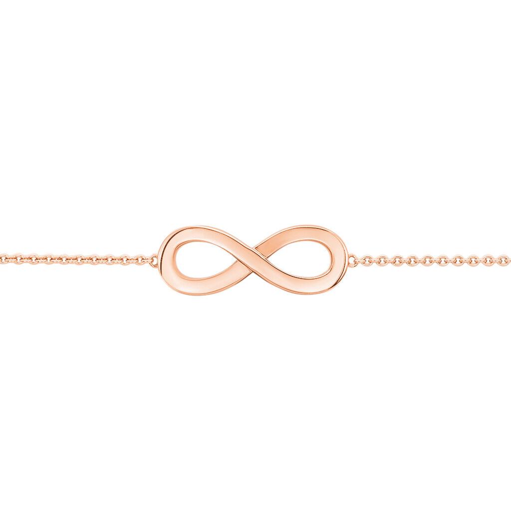 Damenarmband Rosé Vergoldet Silber 925 Infinity - Armbänder Damen | Oro Vivo