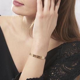 Damen Armreif Vergoldet Griechische Motive - Kategorie Damen | Oro Vivo