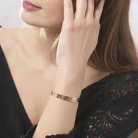 Damen Armreif Vergoldet Griechische Motive - Armreifen Damen | Oro Vivo