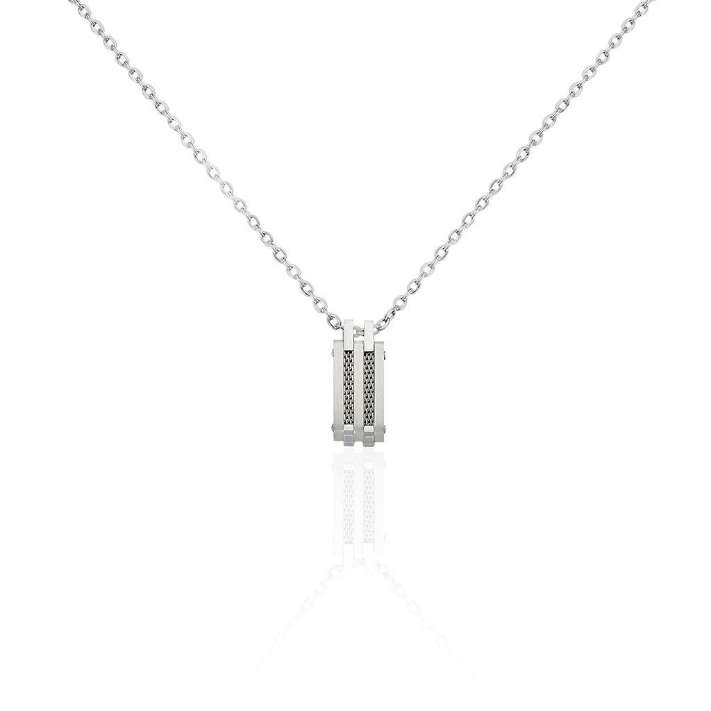 Herren Halskette Edelstahl  - Ketten mit Anhänger Herren | Oro Vivo