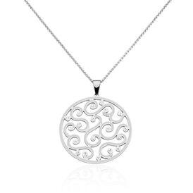 Damen Halskette Edelstahl Kristall  -  Damen | Oro Vivo