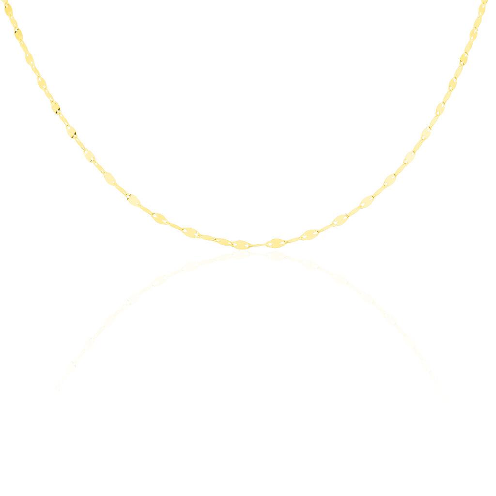 Damen Luminakette Gold 375 45cm - Ketten ohne Anhänger Damen | Oro Vivo
