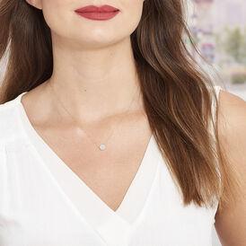 Damen Halskette Gold 375 Glitzer - Ketten mit Anhänger Damen | Oro Vivo