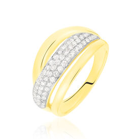 Damenring Gold 750 Diamanten 0,513ct - Ringe mit Edelsteinen Damen | Oro Vivo