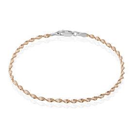 Damenarmband Kordelkette Silber 925 Vergoldet - Armketten Damen | Oro Vivo