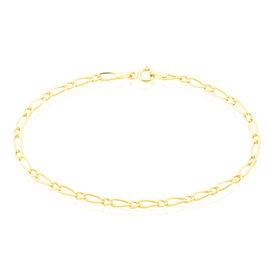 Damenarmband Figarokette Gold 375  - Armketten Damen | Oro Vivo