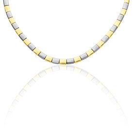 Boccia Damen Collier Titan Bicolor Vergoldet - Ketten ohne Anhänger  | Oro Vivo