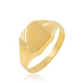 Unisex Siegelring Gold 375  - Siegelringe Unisexe | Oro Vivo