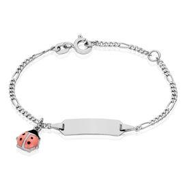Kinder Id Armband Figarokette Silber 925 -  Kinder | Oro Vivo