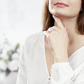 Damenring Weißgold 375 Zirkonia - Eheringe Damen | Oro Vivo