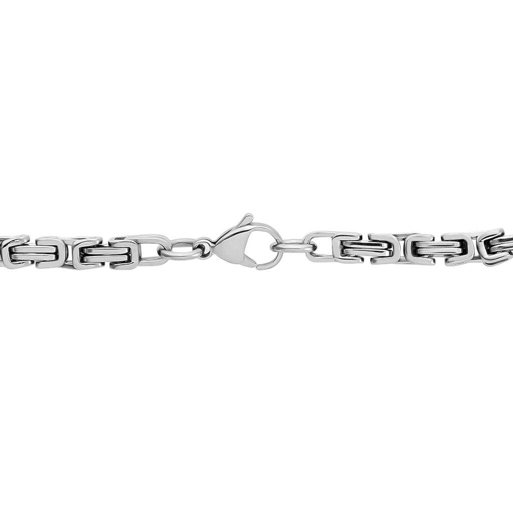 Herren Königskette Edelstahl 55cm - Ketten ohne Anhänger Herren | Oro Vivo