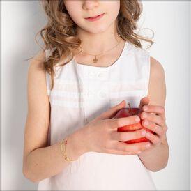 Kinderanhänger Gold 375 Engel - Schmuckanhänger Kinder   Oro Vivo