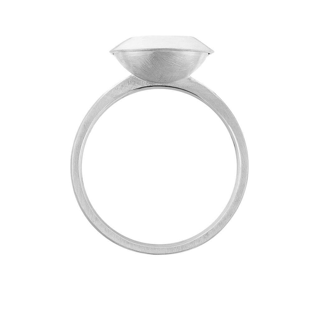Solitärring Weißgold 375 Diamant Heiko Schrem - Ringe mit Edelsteinen Damen | Oro Vivo