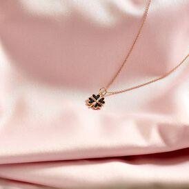 Kinder Halskette Silber 925 Rosé Vergoldet - Ketten mit Anhänger Kinder | Oro Vivo