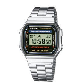 Casio Collection Herrenuhr A168wa-1yes Retro - Analoguhren Herren   Oro Vivo