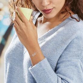 Damenarmband Silber 925 Infinity -  Damen   Oro Vivo
