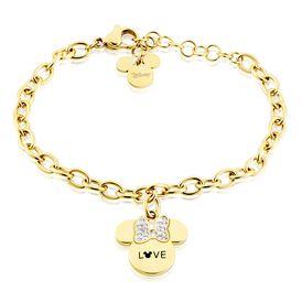 Kinderarmband Edelstahl Vergoldet Minnie - Armbänder    Oro Vivo