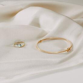 Damen Armreif Gold 375 - Armreifen    Oro Vivo